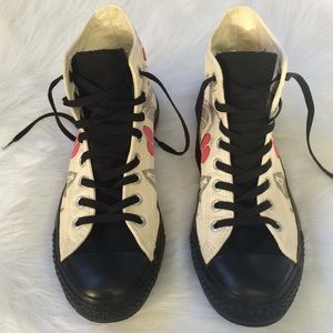 370fca5d612b Converse Shoes - 💝HP💝 Sailor Jerry Death or Glory Tattoo Converse